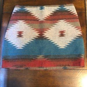 American Eagle Aztec skirt